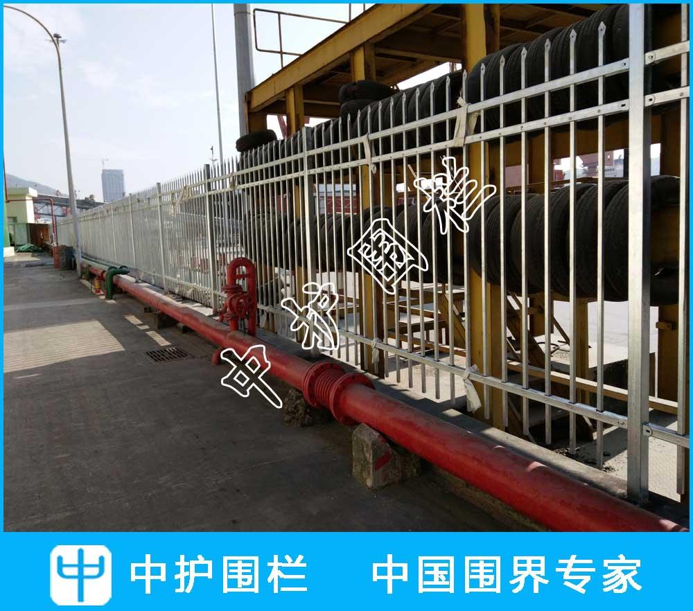 深圳蛇口南天油泊公司工厂围墙项
