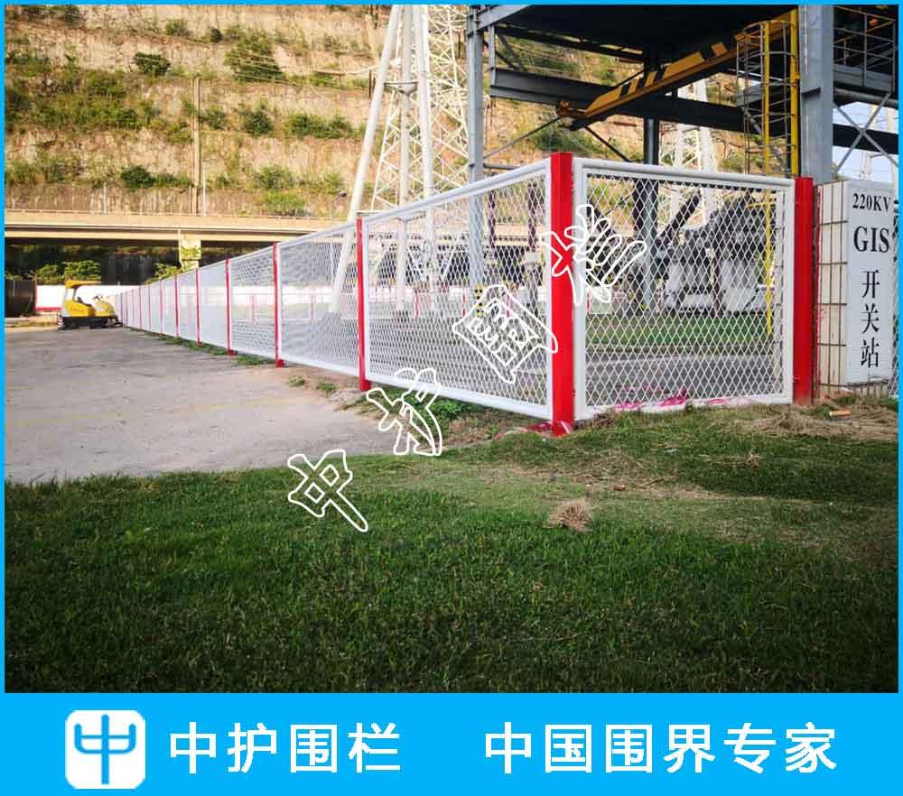 深圳妈湾电厂厂区隔离伟德国际亚洲平台首页网安装